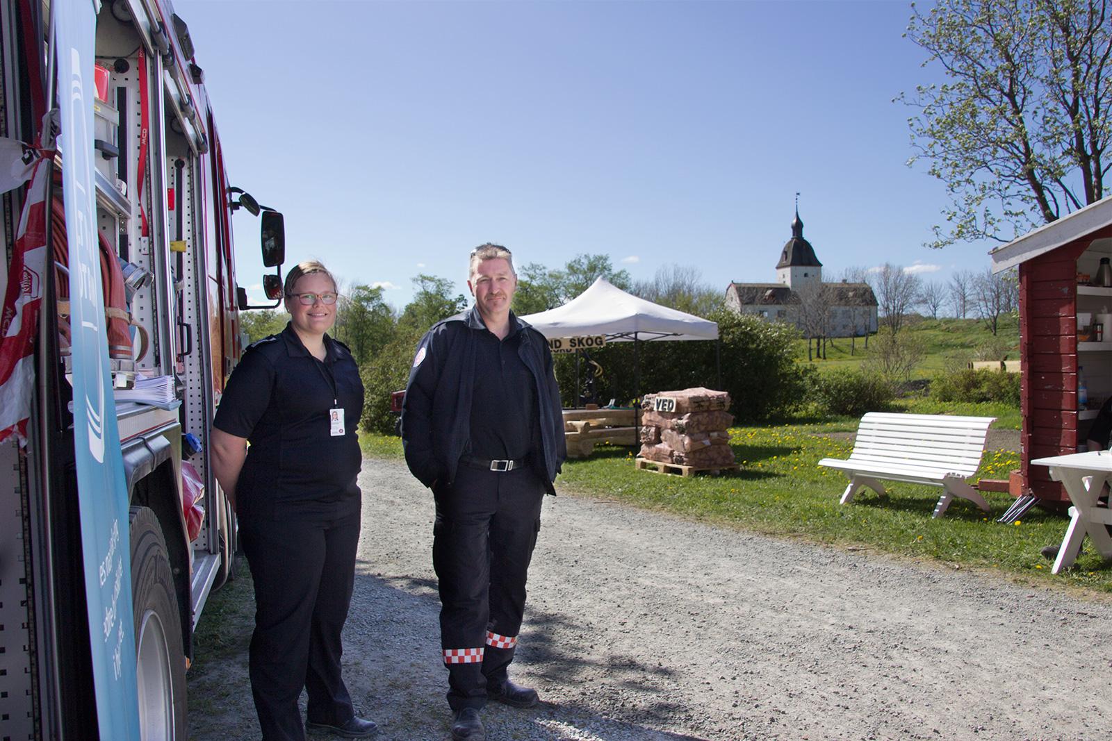 Fosen Brann og redningstjenste på Bygdadagene 2016